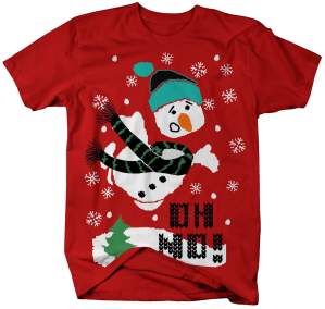 AA0725-Ugly Sweater Oh No