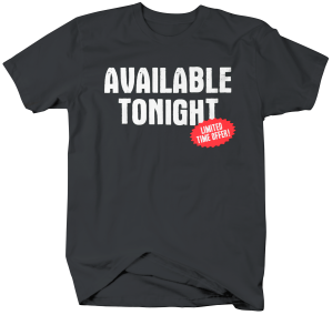 II3073-Availabel Tonight