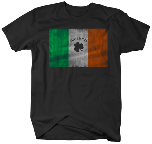 II0714-Vintage Irish Flag
