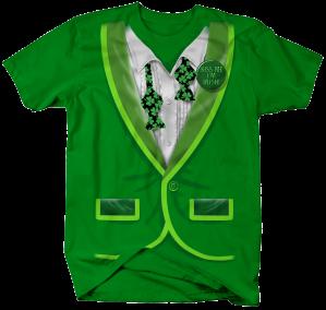 II2487-Tux Tie Undone St. Pats