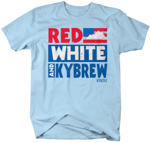 KYB017-Red White KY