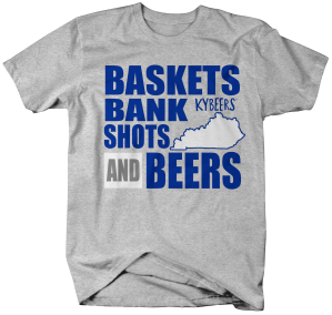 KYB026-Baskets Bank Shots Beers KY