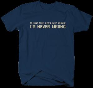 II0915-Never Wrong