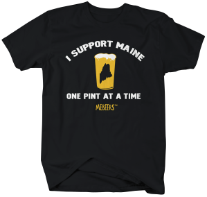 MEB002-Support Maine Pint